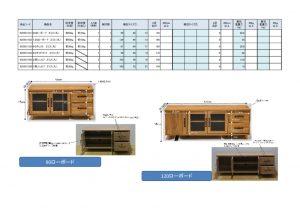 佐藤産業 90ローボード エリス(九) 925301101-01106のサムネイル